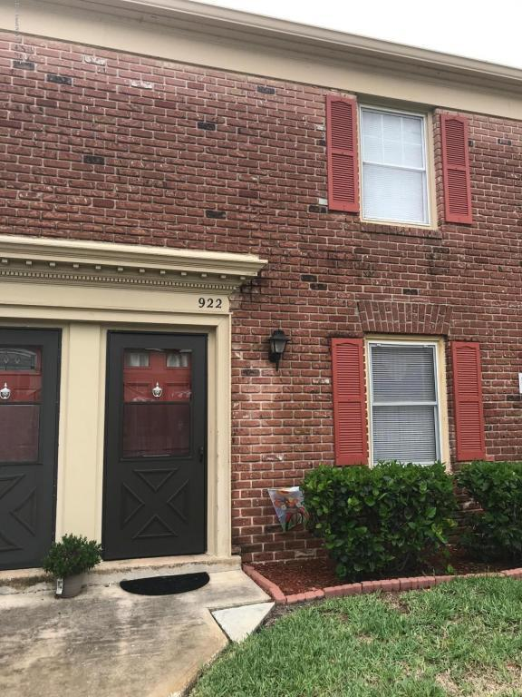922 Jamestown Avenue #91, Indian Harbour Beach, FL 32937 (MLS #814406) :: Better Homes and Gardens Real Estate Star