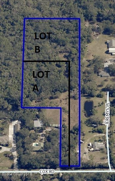 Lot A Cox (Lot A), Cocoa, FL 32926 (MLS #814442) :: Premium Properties Real Estate Services