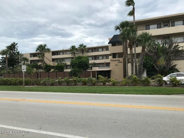 1101 S Miramar Avenue #405, Indialantic, FL 32903 (MLS #815095) :: Better Homes and Gardens Real Estate Star