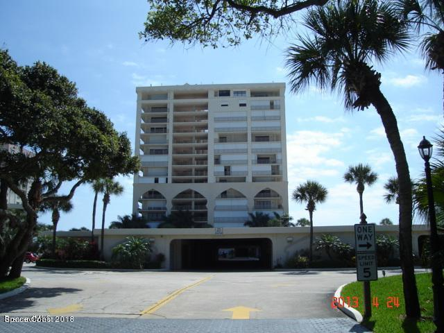 750 N Atlantic Avenue #407, Cocoa Beach, FL 32931 (MLS #816777) :: Better Homes and Gardens Real Estate Star