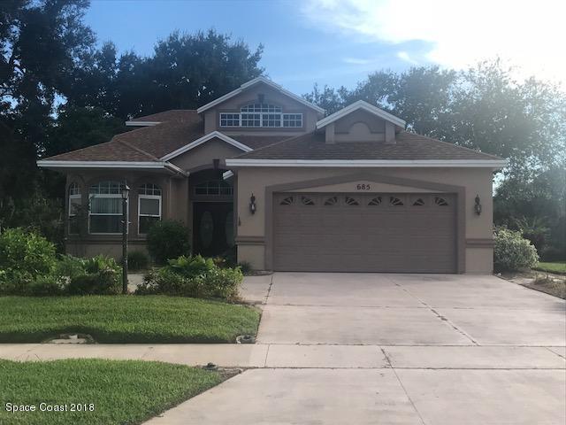 685 Bella Vista Drive, Titusville, FL 32780 (MLS #825294) :: Pamela Myers Realty