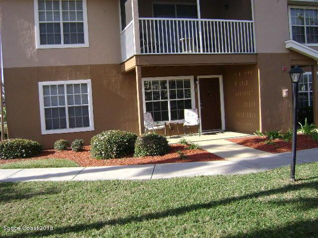1780 Rocky Wood Circle #108, Rockledge, FL 32955 (MLS #828536) :: Premium Properties Real Estate Services