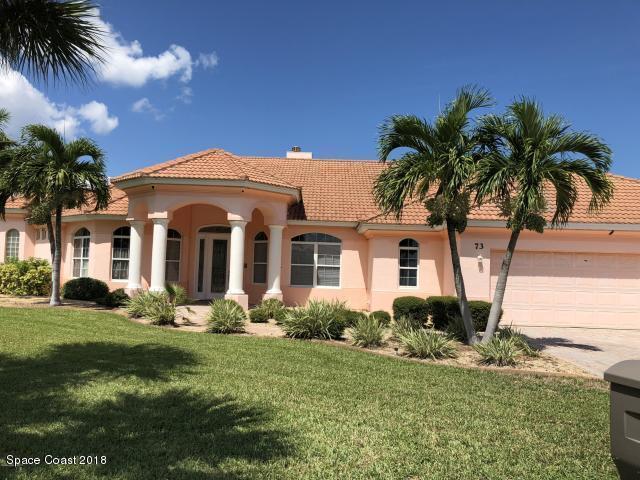 73 River Falls Drive, Cocoa Beach, FL 32931 (MLS #829882) :: Premium Properties Real Estate Services