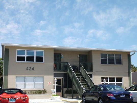 424 Johnson Avenue #7, Cape Canaveral, FL 32920 (MLS #833928) :: Platinum Group / Keller Williams Realty