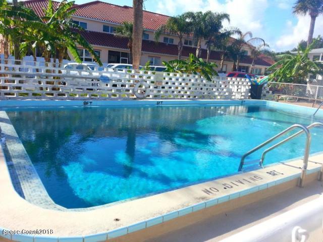 8522 N Atlantic Avenue #42, Cape Canaveral, FL 32920 (MLS #834709) :: Coral C's Realty LLC