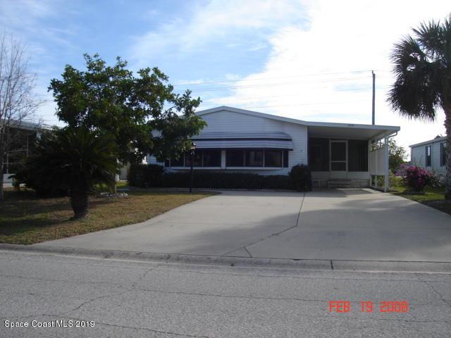 1019 Sebastian Road, Barefoot Bay, FL 32976 (MLS #838768) :: Armel Real Estate