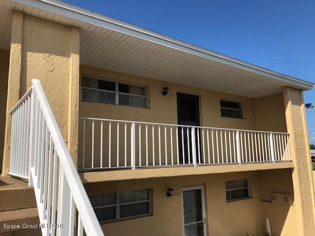 2135 N Courtenay Parkway #201, Merritt Island, FL 32953 (MLS #840841) :: Blue Marlin Real Estate