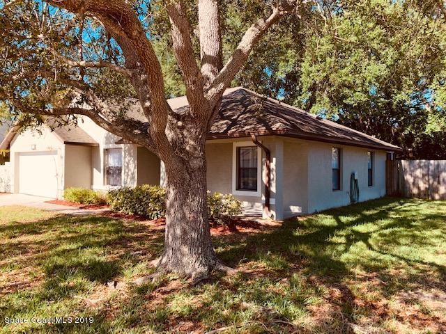 1253 Sleepy Hollow Lane, Rockledge, FL 32955 (MLS #843409) :: Blue Marlin Real Estate