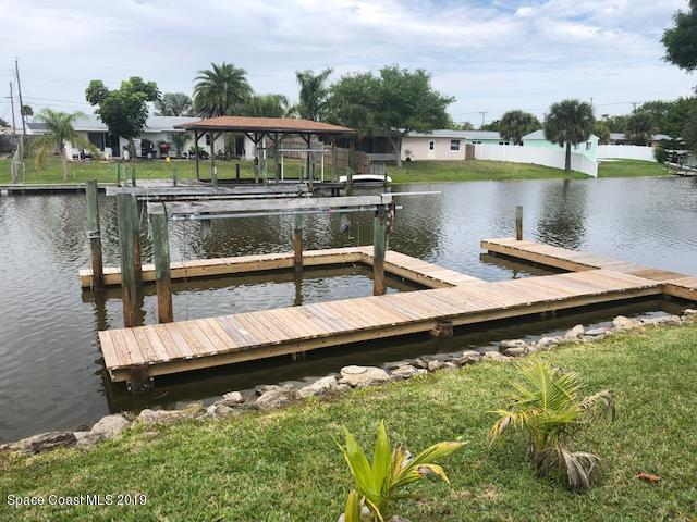106 Boca Ciega Road, Cocoa Beach, FL 32931 (MLS #843483) :: Blue Marlin Real Estate