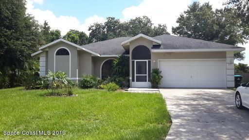 613 SE Seven Gables Circle SE, Palm Bay, FL 32909 (MLS #846333) :: Pamela Myers Realty