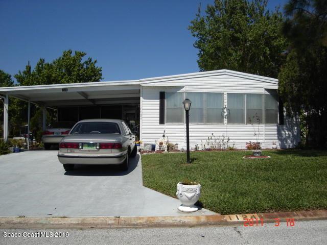 1124 Sabal Palm Lane, Barefoot Bay, FL 32976 (MLS #848776) :: Armel Real Estate