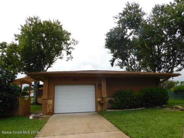 280 Bayhead Drive, Melbourne, FL 32940 (MLS #855377) :: Pamela Myers Realty