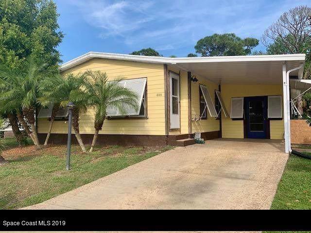 444 Marlin Circle, Barefoot Bay, FL 32976 (MLS #855744) :: Armel Real Estate
