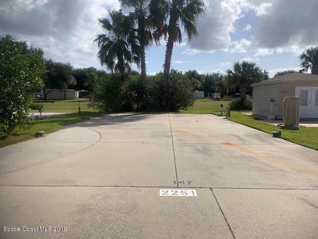 2251 Orbiter Court #147, Titusville, FL 32796 (MLS #855929) :: Pamela Myers Realty