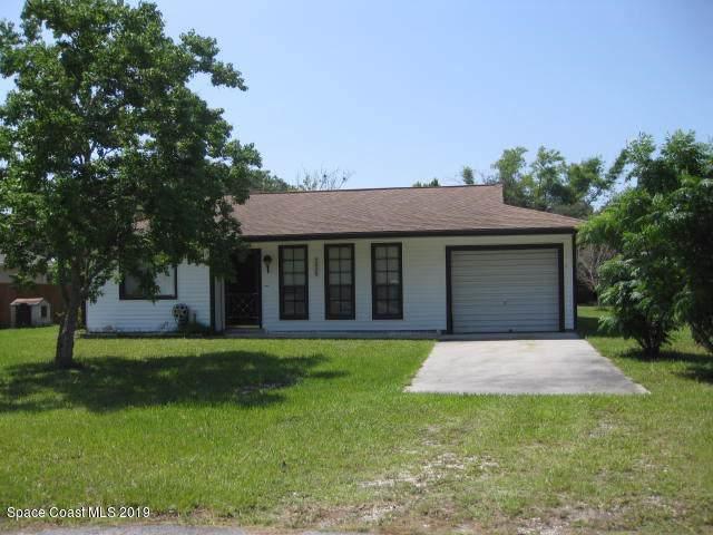 2828 Stearns Avenue NE, Palm Bay, FL 32905 (MLS #855978) :: Pamela Myers Realty