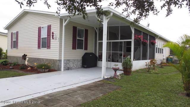 877 Laurel Circle, Barefoot Bay, FL 32976 (MLS #863071) :: Armel Real Estate