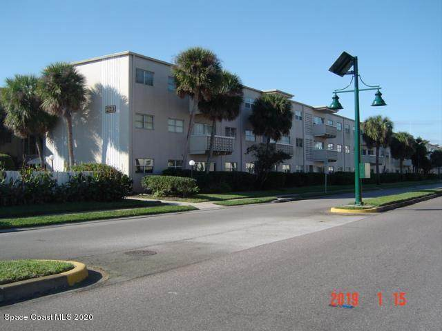 223 Columbia Drive #306, Cape Canaveral, FL 32920 (MLS #867162) :: Engel & Voelkers Melbourne Central
