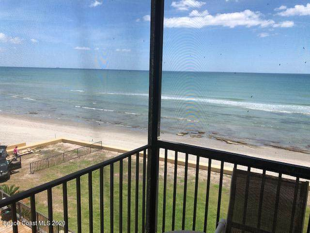 205 Highway A1a #408, Satellite Beach, FL 32937 (MLS #875020) :: Blue Marlin Real Estate