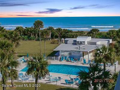 2020 N Atlantic Avenue 206N, Cocoa Beach, FL 32931 (MLS #877727) :: Premium Properties Real Estate Services