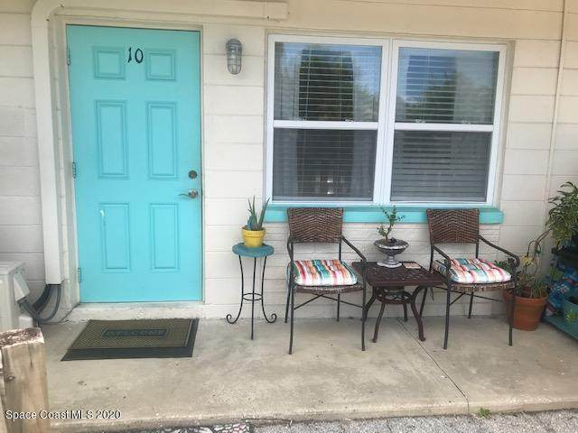490 S Orlando Avenue #10, Cocoa Beach, FL 32931 (MLS #881548) :: Engel & Voelkers Melbourne Central