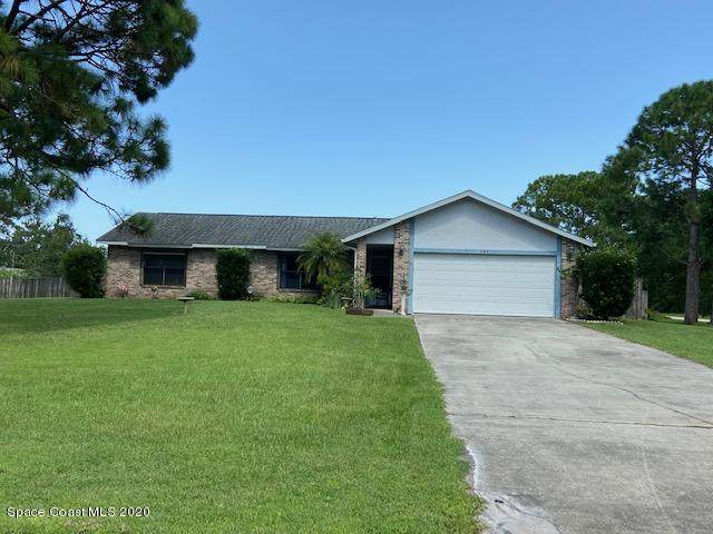 191 Greenacre Drive SE, Palm Bay, FL 32909 (MLS #881847) :: Engel & Voelkers Melbourne Central