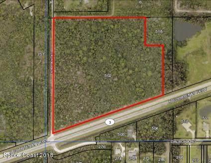0 N Courtenay Pkwy, Merritt Island, FL 32953 (MLS #884505) :: Blue Marlin Real Estate