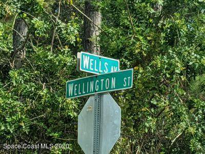 0 Corner Of Wells/ Wellington Street SW, Palm Bay, FL 32908 (MLS #885658) :: Blue Marlin Real Estate