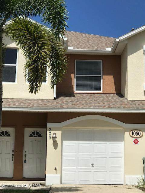 1050 Venetian Drive #203, Melbourne, FL 32904 (MLS #886286) :: Blue Marlin Real Estate