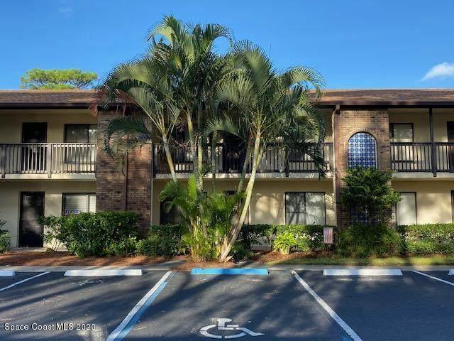 1515 Huntington Lane #224, Rockledge, FL 32955 (MLS #887609) :: Blue Marlin Real Estate