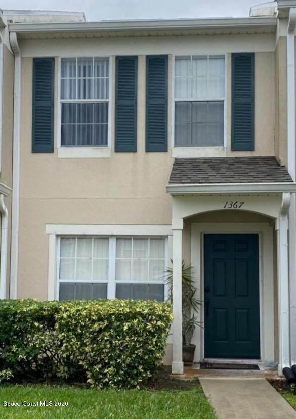 1367 Hampton Park Lane, Melbourne, FL 32940 (MLS #888183) :: Premium Properties Real Estate Services