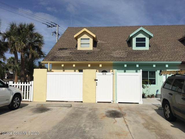 510 Harrison Avenue, Cape Canaveral, FL 32920 (MLS #888302) :: Premium Properties Real Estate Services