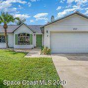857 Spirea Drive, Rockledge, FL 32955 (MLS #888573) :: Premium Properties Real Estate Services