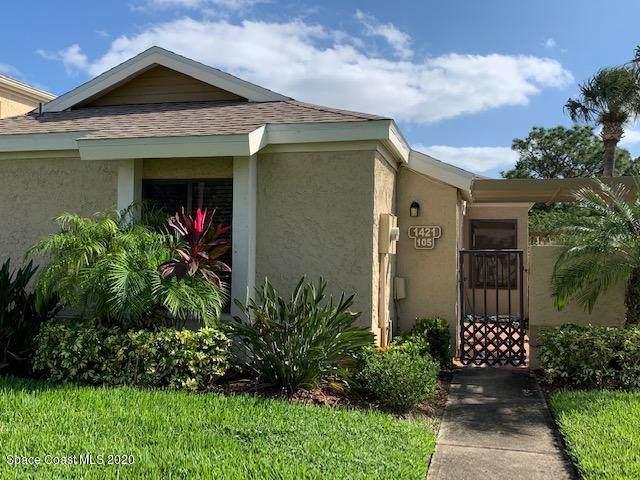 1421 Sheafe Avenue NE #105, Palm Bay, FL 32905 (MLS #889429) :: Coldwell Banker Realty