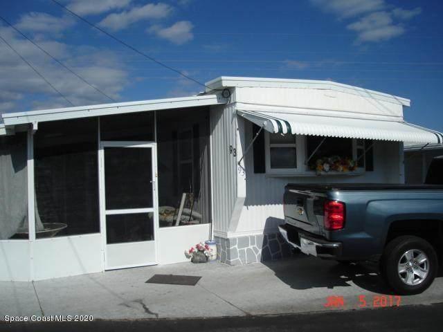 2580 S Highway A1a Highway E #93, Melbourne Beach, FL 32951 (MLS #890081) :: Engel & Voelkers Melbourne Central