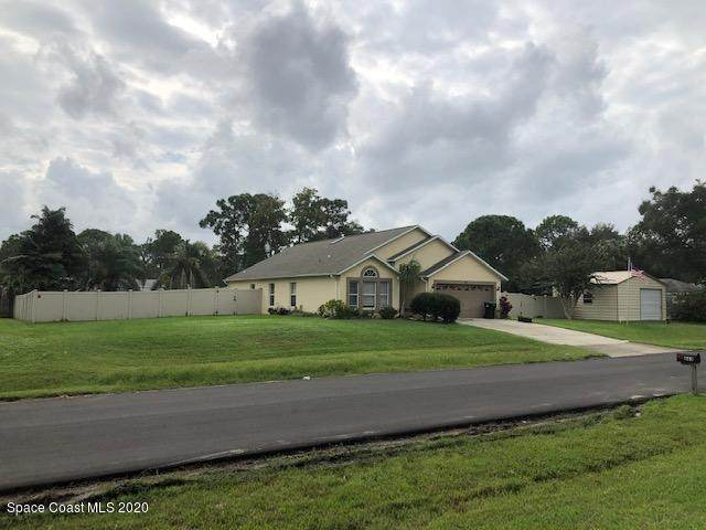 656 Coconut Street SE, Palm Bay, FL 32909 (MLS #890134) :: Premium Properties Real Estate Services