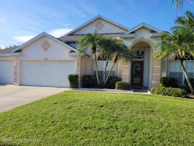 736 Carriage Hill Road, Melbourne, FL 32940 (MLS #891798) :: Blue Marlin Real Estate