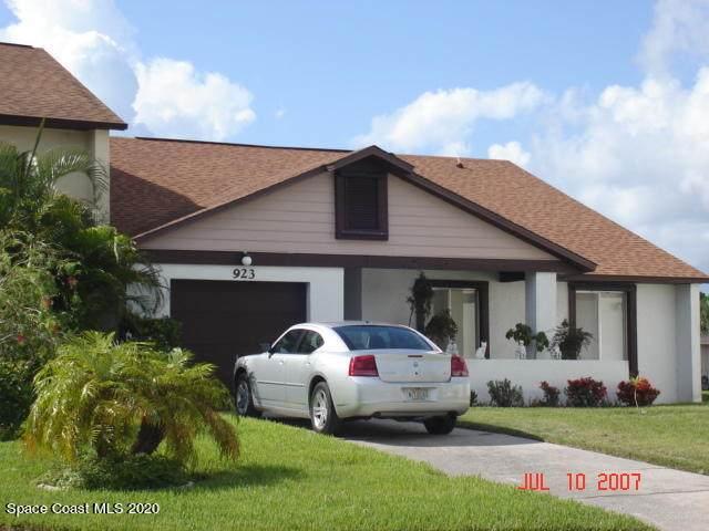 923 Barbados Avenue, Melbourne, FL 32901 (MLS #892460) :: Blue Marlin Real Estate