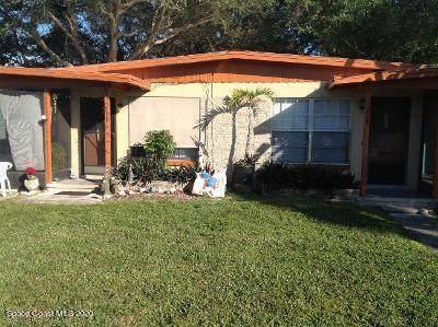 215 Woodland Avenue 215-217, Cocoa Beach, FL 32931 (MLS #893220) :: Blue Marlin Real Estate