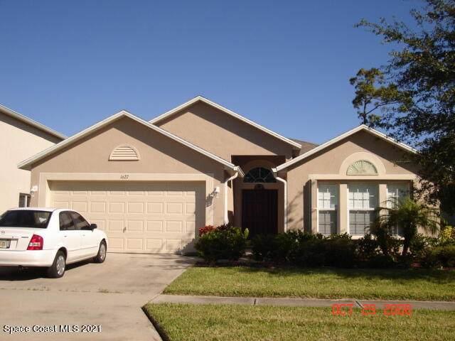 1627 Sawgrass Drive SW, Palm Bay, FL 32908 (MLS #901612) :: Engel & Voelkers Melbourne Central