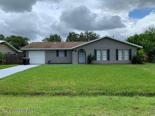 331 Christmas Avenue SE, Palm Bay, FL 32909 (MLS #902755) :: Blue Marlin Real Estate