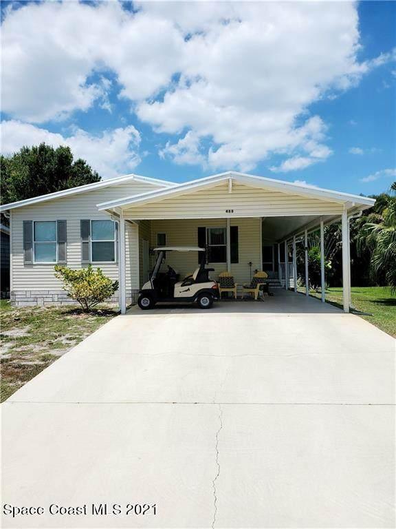 488 Marlin Circle, Barefoot Bay, FL 32976 (MLS #904271) :: Blue Marlin Real Estate