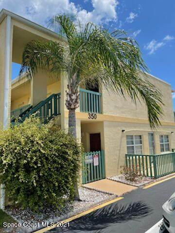 350 Taylor Avenue B-15, Cape Canaveral, FL 32920 (MLS #907956) :: Premium Properties Real Estate Services