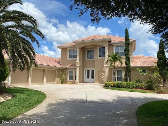 8181 Compton Way, Melbourne, FL 32940 (MLS #908420) :: Blue Marlin Real Estate