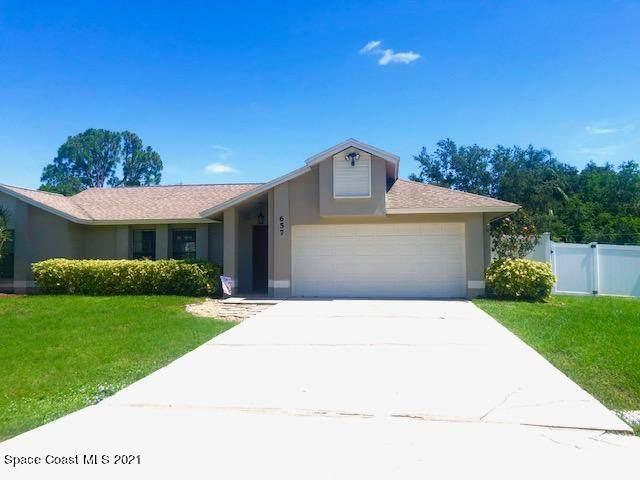 657 Hyannie Street NE, Palm Bay, FL 32907 (MLS #909791) :: Vacasa Real Estate