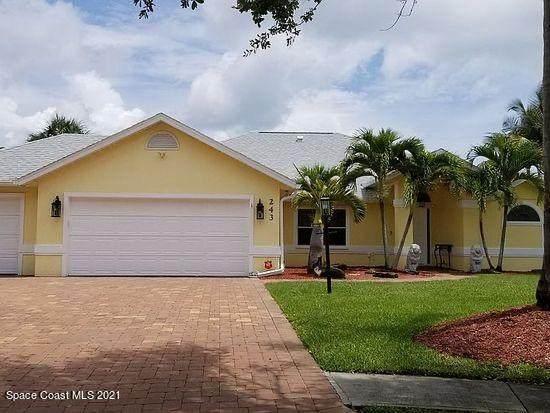 243 Peregrine Drive, Indialantic, FL 32903 (MLS #910933) :: Keller Williams Realty Brevard