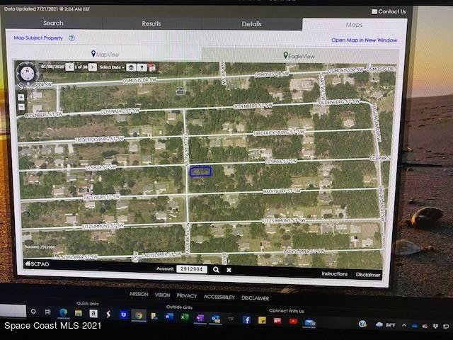 0000 SW Not Assigned SW Port Malabar Un, Palm Bay, FL 32908 (MLS #911802) :: Blue Marlin Real Estate