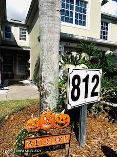 812 Handsome Cab Lane #104, Melbourne, FL 32940 (MLS #918185) :: Premium Properties Real Estate Services