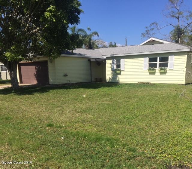 1585 Norman Street NE, Palm Bay, FL 32907 (MLS #805645) :: Better Homes and Gardens Real Estate Star
