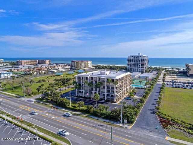2090 N Atlantic Avenue #307, Cocoa Beach, FL 32931 (MLS #840475) :: Blue Marlin Real Estate