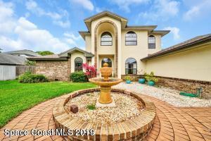 875 Lakewood Circle, Merritt Island, FL 32952 (MLS #845173) :: Blue Marlin Real Estate